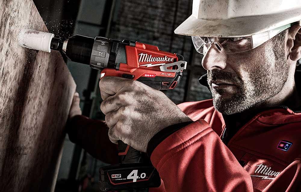 Milwaukee Powertools, Advertising Retouching by Photofixer London