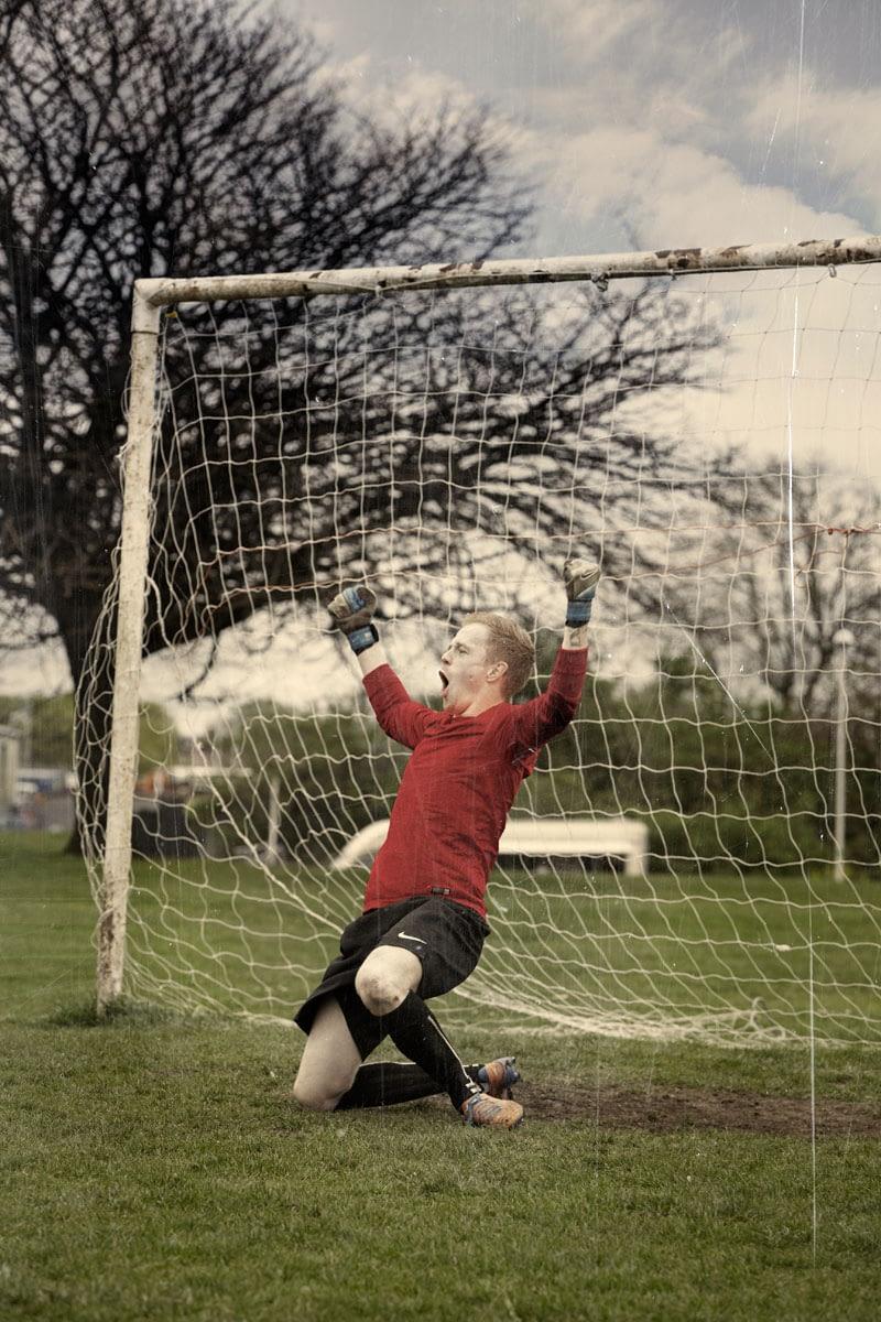 Football Retouching for Football Association Love Football Campaign